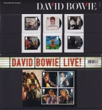 2017 David Bowie Stamp Presentation Pack